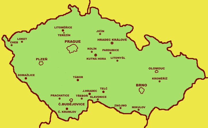 Czech town historical reservations